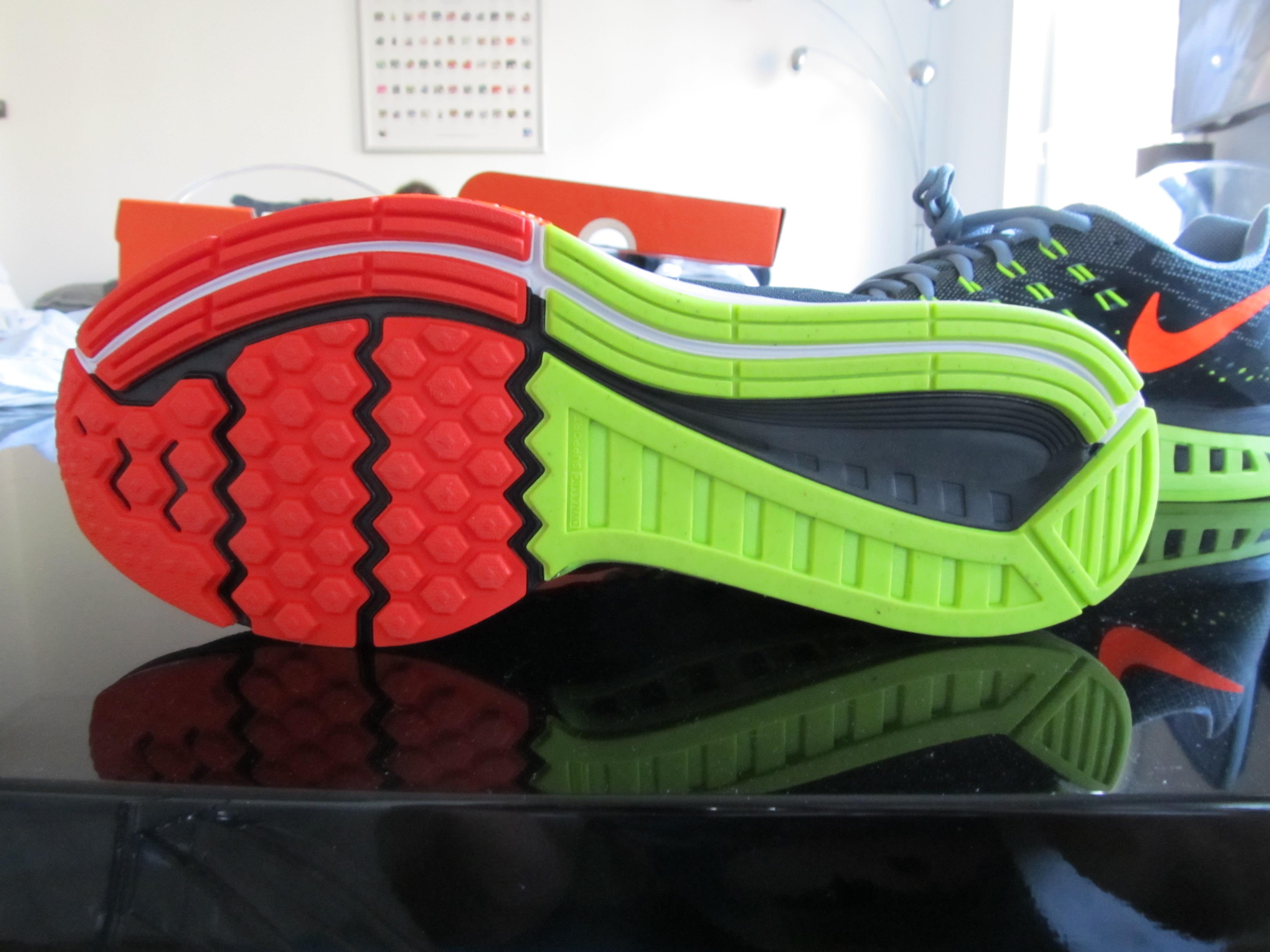 Nike Air Zoom Structure 18 Menn Løpesko Blå / Orange Joe 66TUNO1