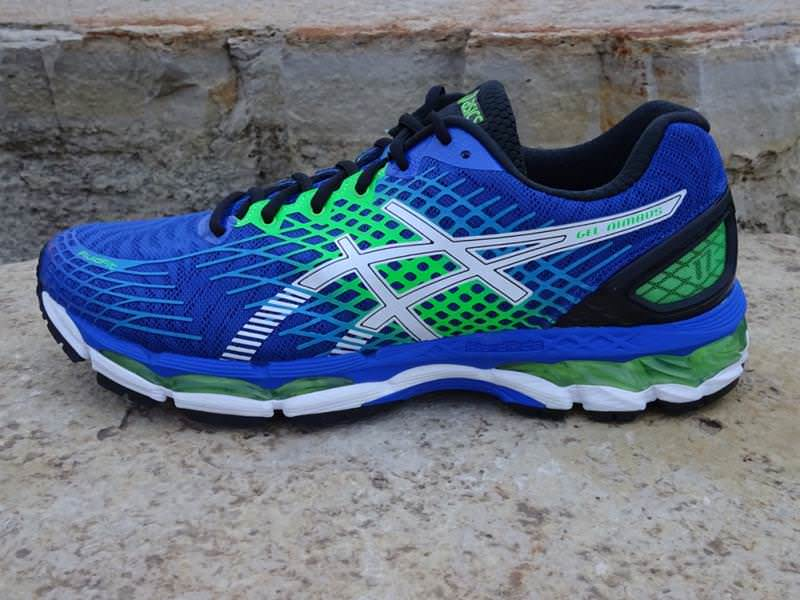 difference between asics gel nimbus 17 and 18