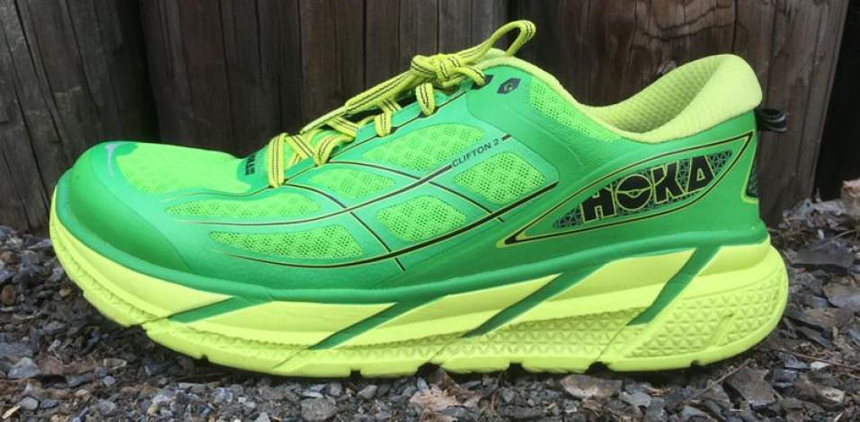 Hoka OneOne Clifton 2 - Medial Side