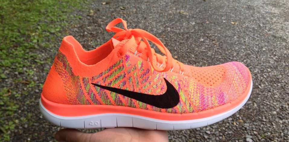 the latest e1bab a0fa8 ... Nike Free Flyknit 4.0 - Medial Side