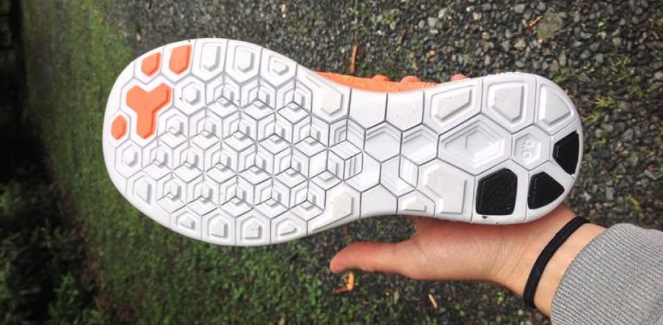 Nike Free Flyknit 4.0 - Sole