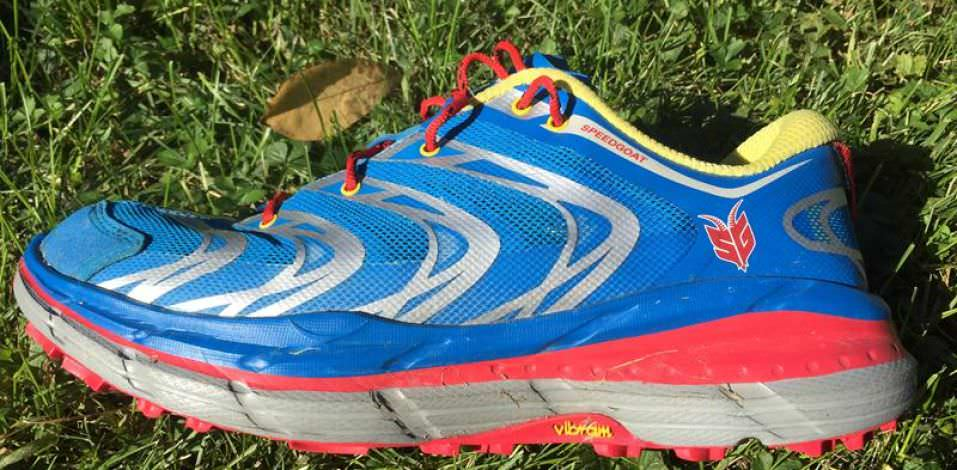 Hoka OneOne Speedgoat - Medial Side
