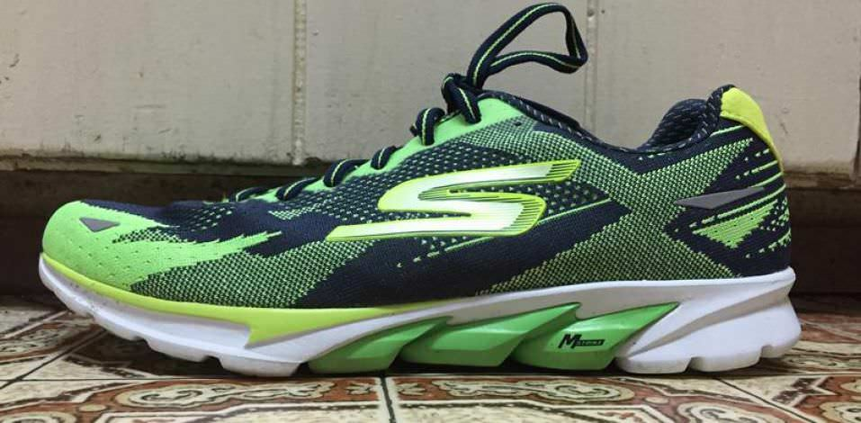 Skechers GOrun 4 - Lateral Side