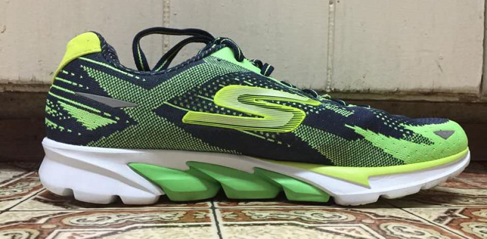 Skechers GOrun 4 - Medial Side