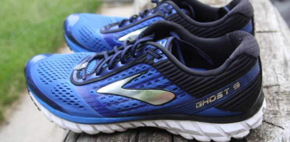 Brooks Ghost 9 - Lateral Side
