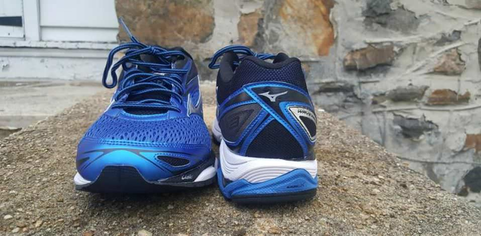 Mizuno Wave Inspire 13 - Toe and Heel