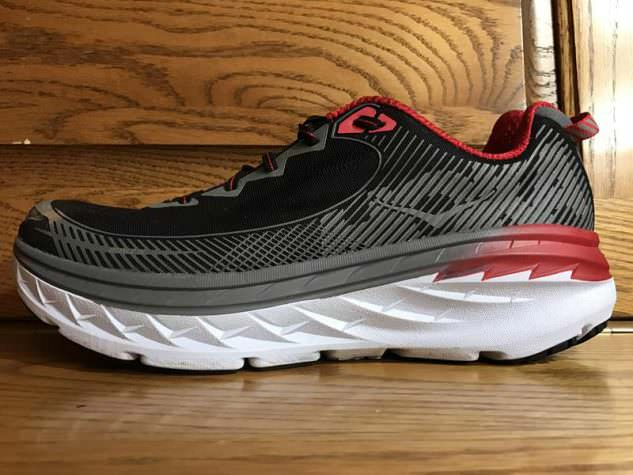 Hoka One One Bondi 5 - Lateral Side