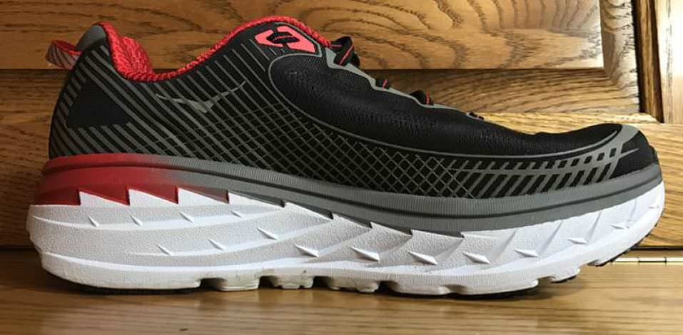 Hoka One One Bondi 5 - Medial Side