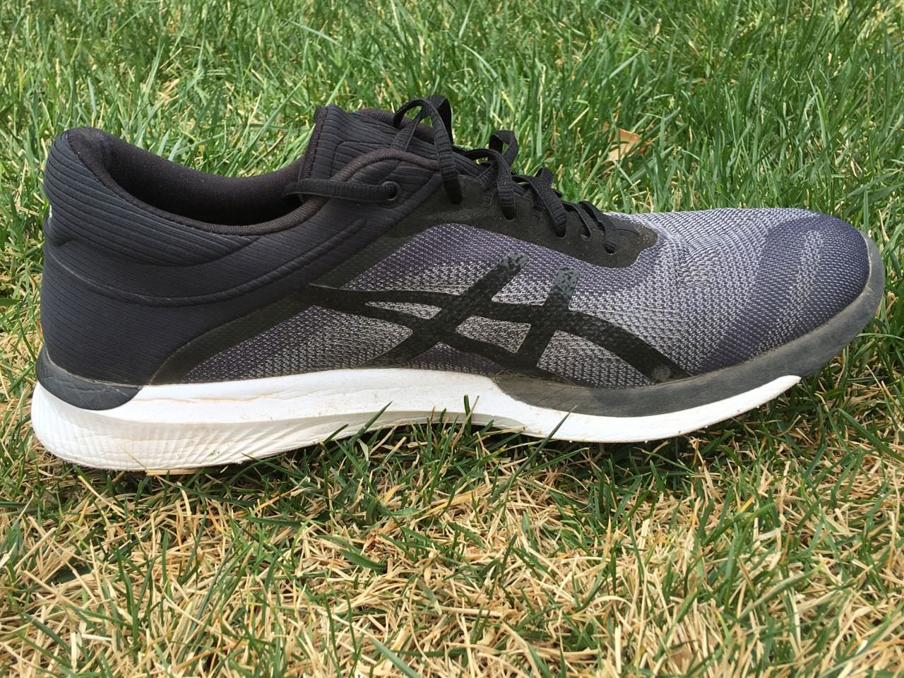 asics fuzex rush men's review