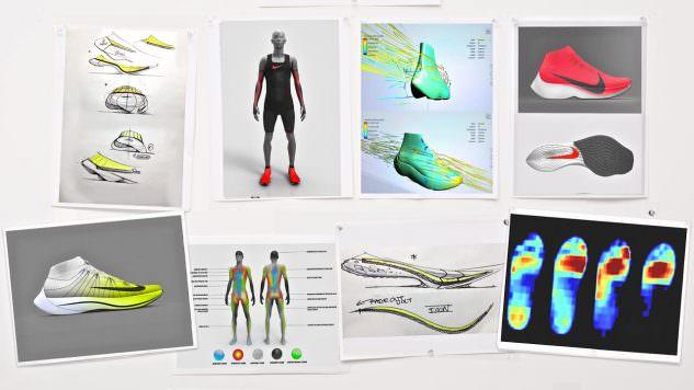 Nike Vaporfly Elite - some sketches