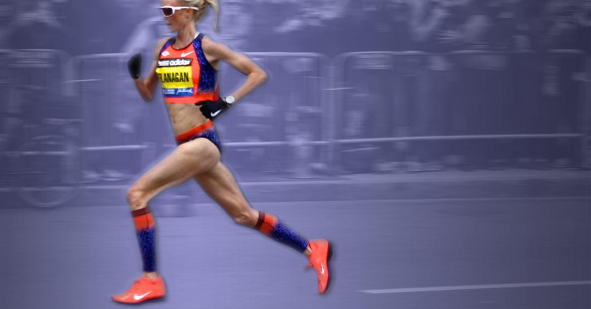 Shalane Flanagan Running Form: Learning