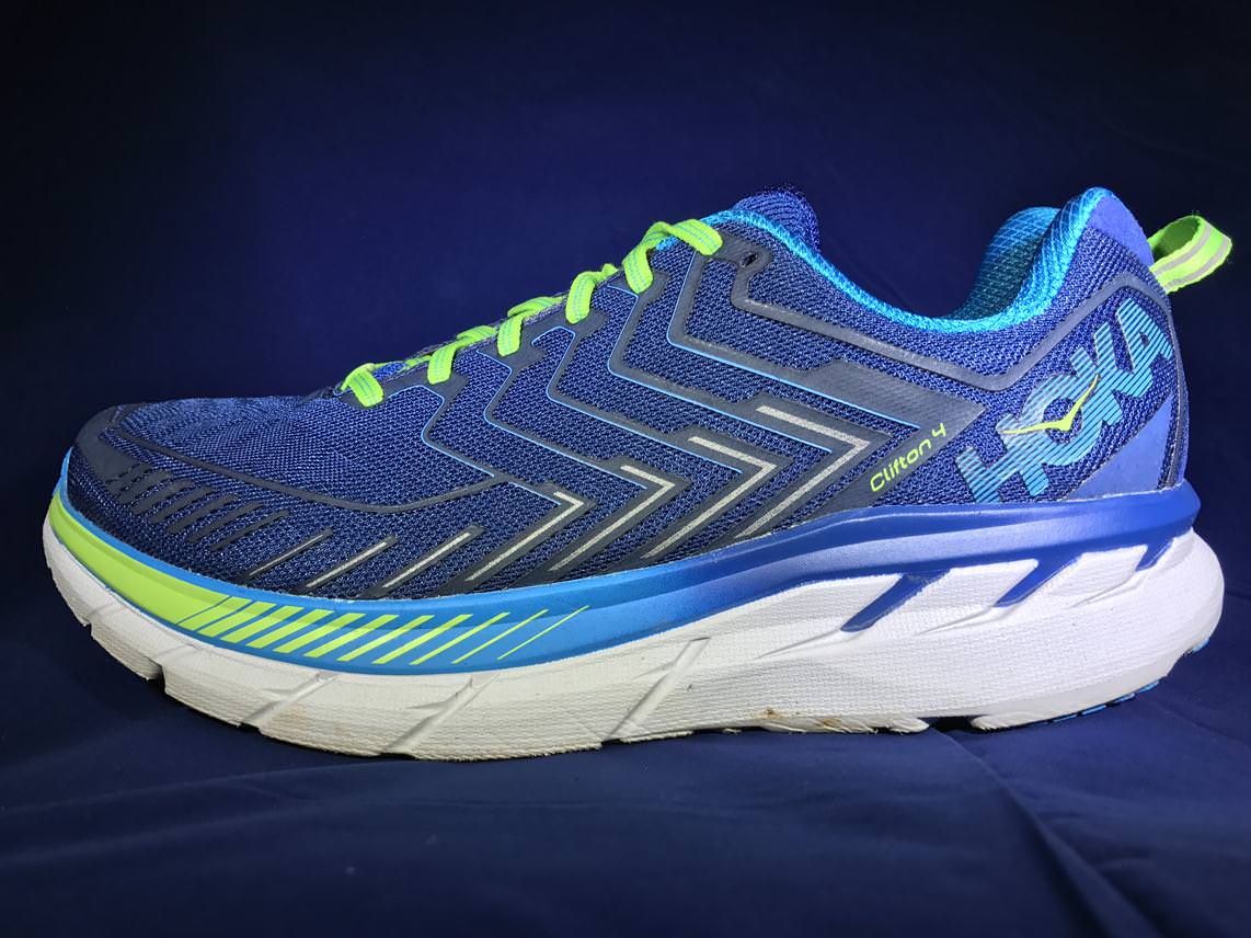 Crossed Running Shoes