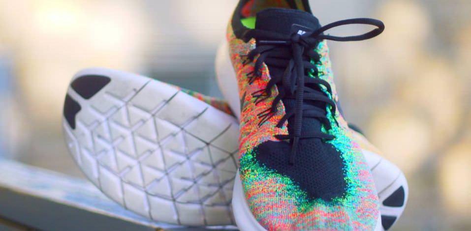 Nike Free Run Flyknit 4.0 Sfondo Multicolore Kto0h6