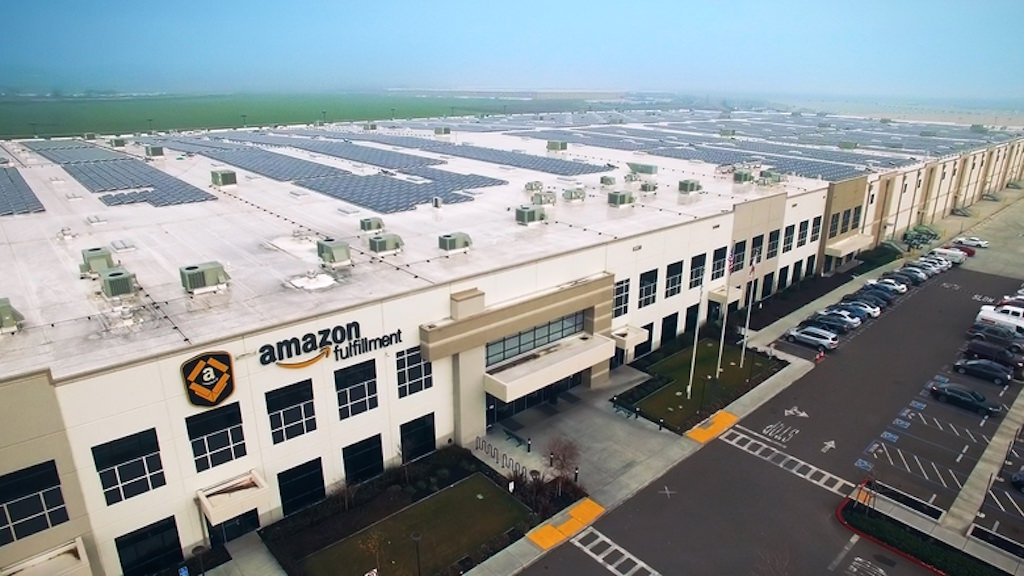 Amazon fulfillment warehouse