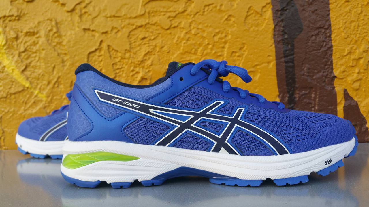 asics blue shoes