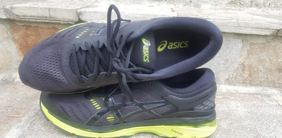 854ad992b30 Asics Gel Kayano 24 - Lateral Side and Top ...