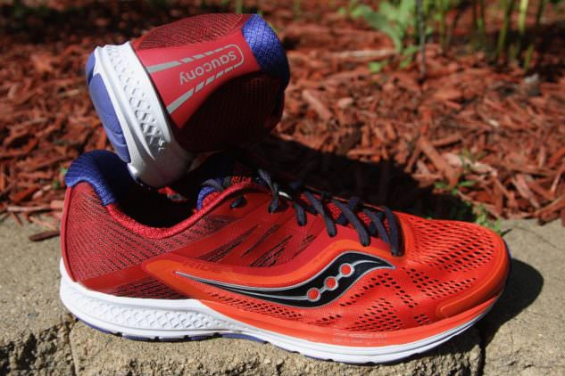 Saucony Ride 10 - Heel and lateral Side