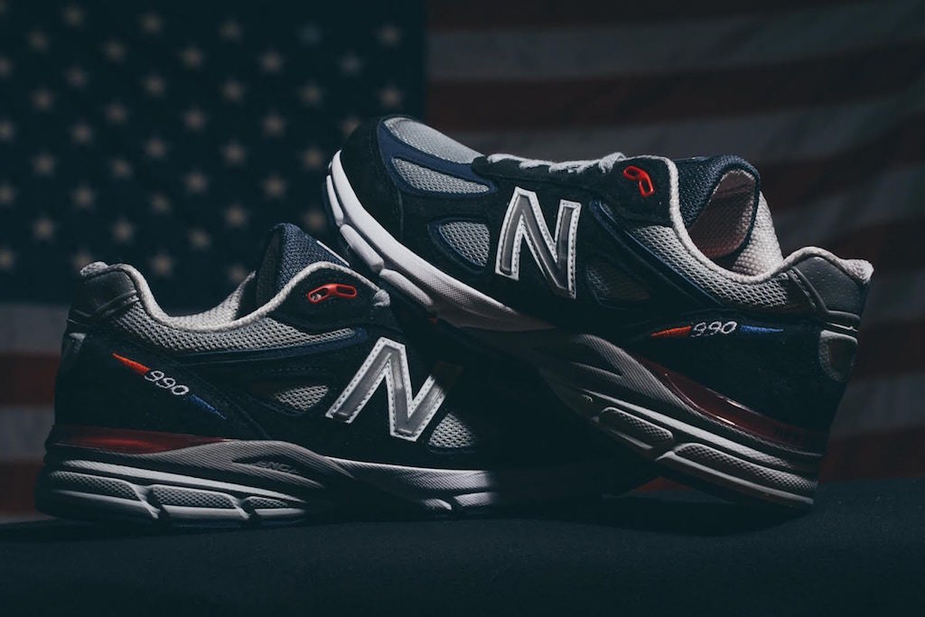 DLTR x New Balance 990 Stars and Stripes