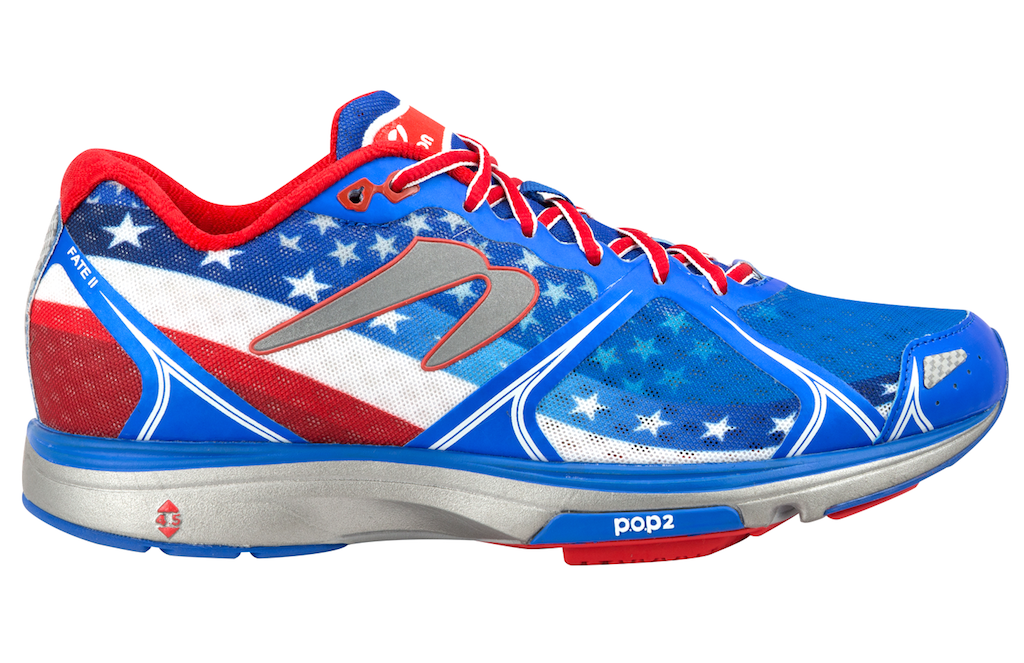 brooks patriotic shoes