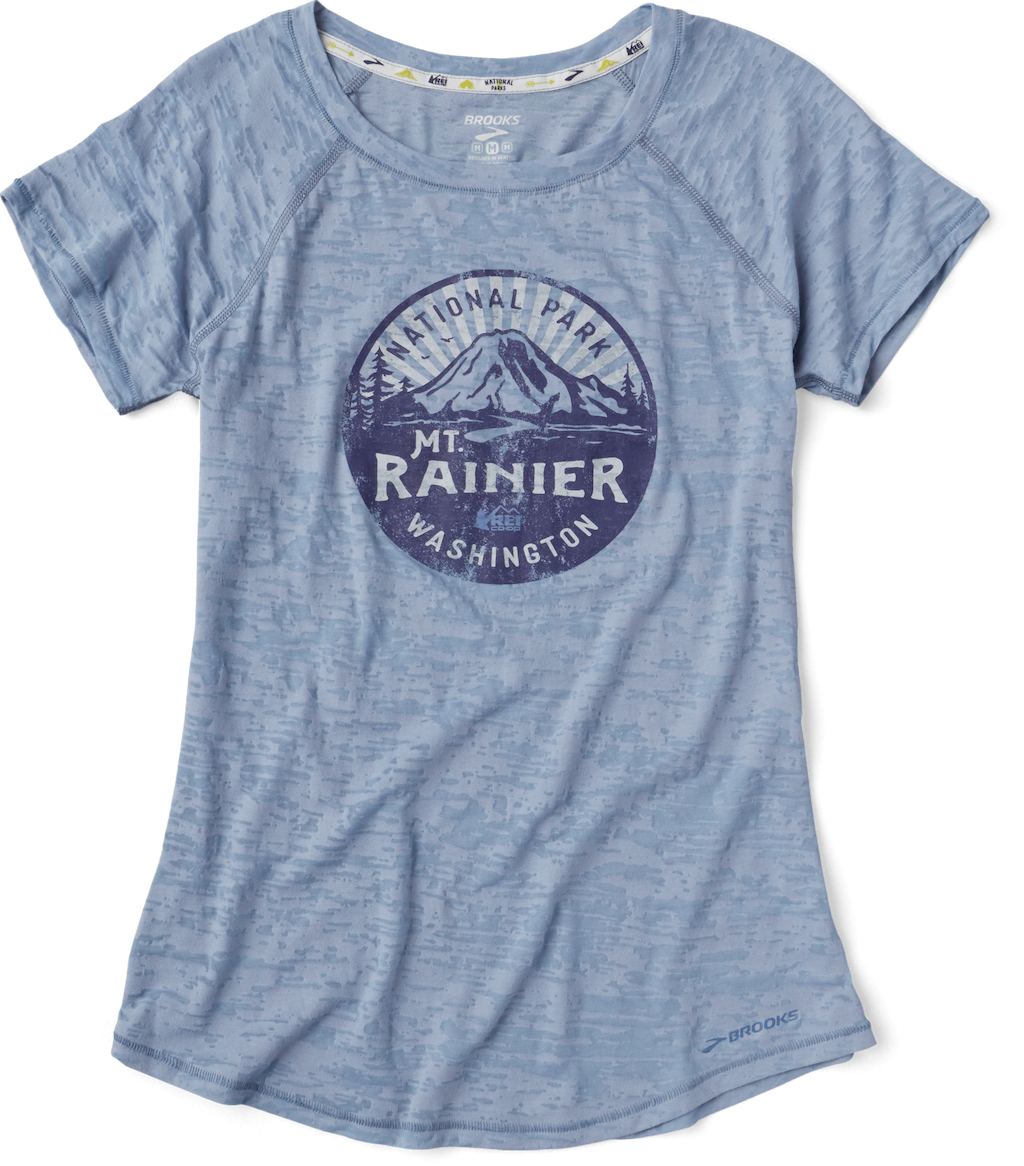 Brooks Mt. Rainier National Park Women's T-Shirt