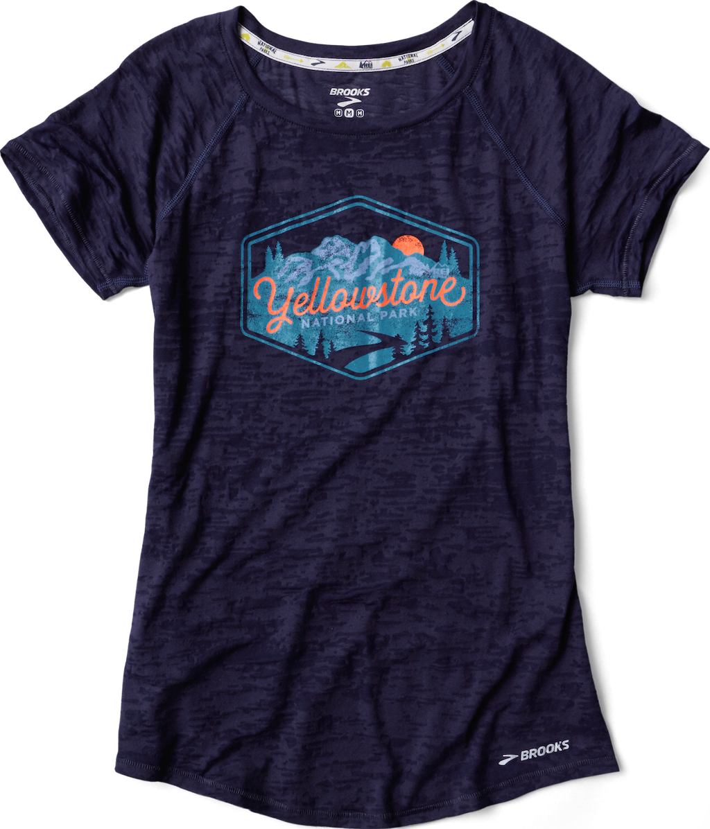 Brooks Yellowstone National Park Women's T-Shirt