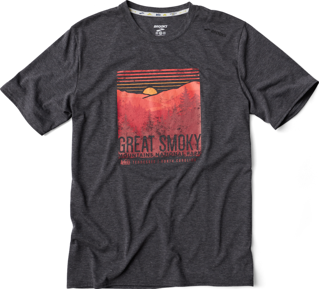 Brooks Great Smoky Mountains National Park Men's T-Shirt