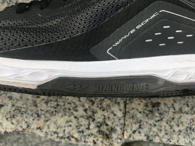 Mizuno Wave Sonic - Lateral Side