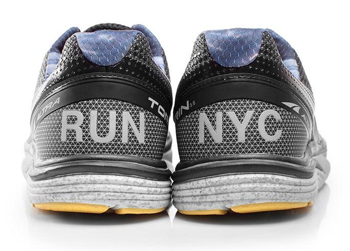 Altra Torin 3.0 NYC heel