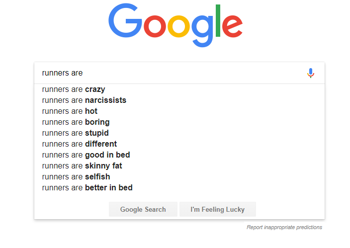 Google-runners-are-autocomplete-results
