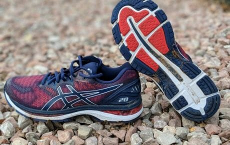 asics gel running