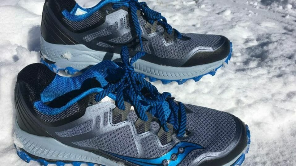 Saucony Peregrine 8 - Lateral Side