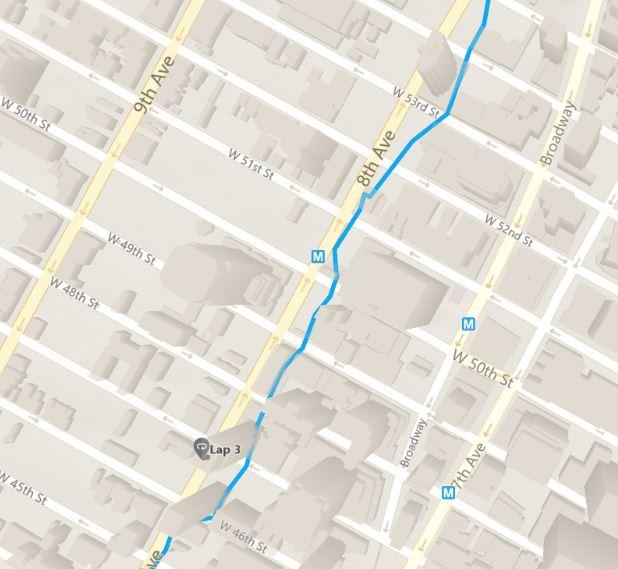 garmin 935 - maps