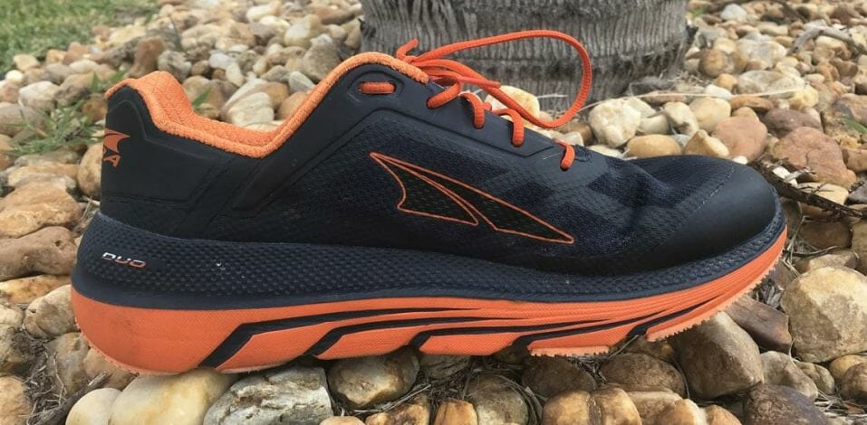 Altra Duo - Medial Side