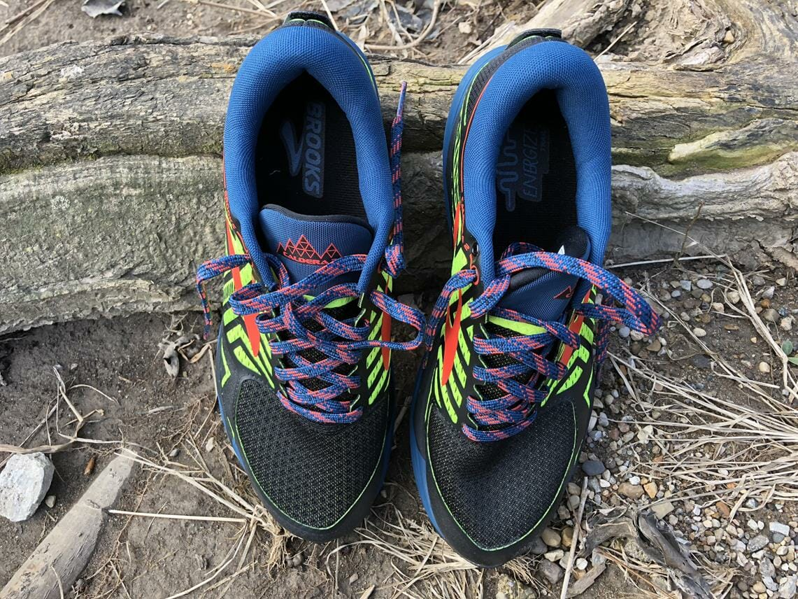 Brooks Caldera 2 - Toe