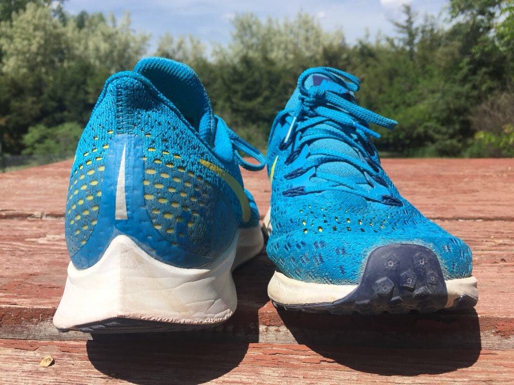 bcf933e2a927d Nike Zoom Pegasus 35 - Heel and Toe