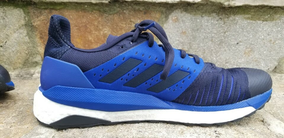 finest selection 6e8ad aaca0 Adidas Solarglide ST - Medial Side