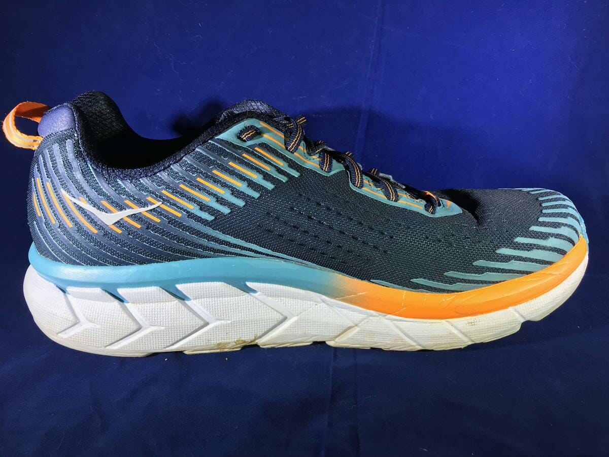 Hoka One One Clifton 5_Medial Side