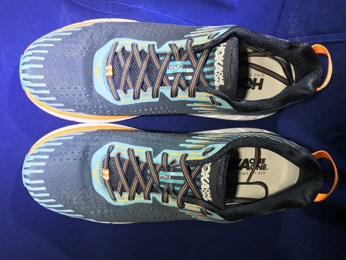 Hoka One One Clifton 5_Top