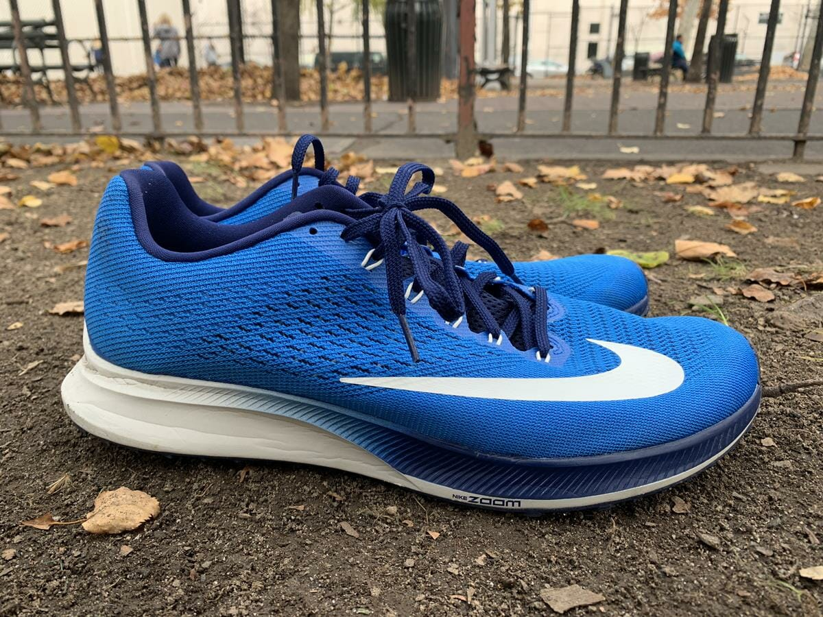 premium selection a482b 54223 Nike Zoom Elite 10 - Lateral Side