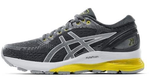 asics gel nimbus 21 - side