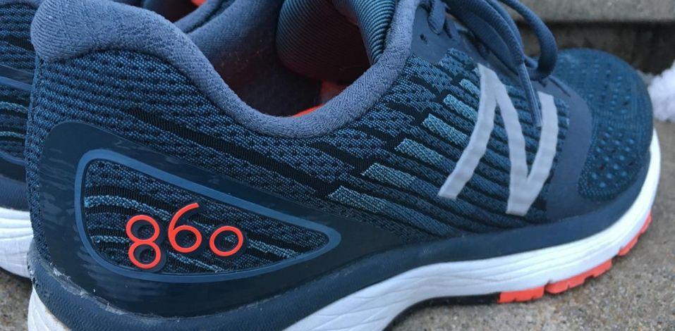 New Balance 860v9 - Heel