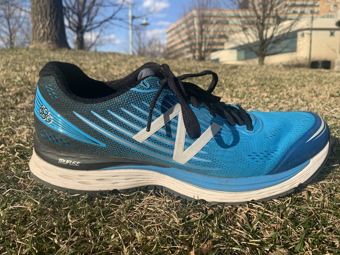 New Balance 880v8 - Lateral Side