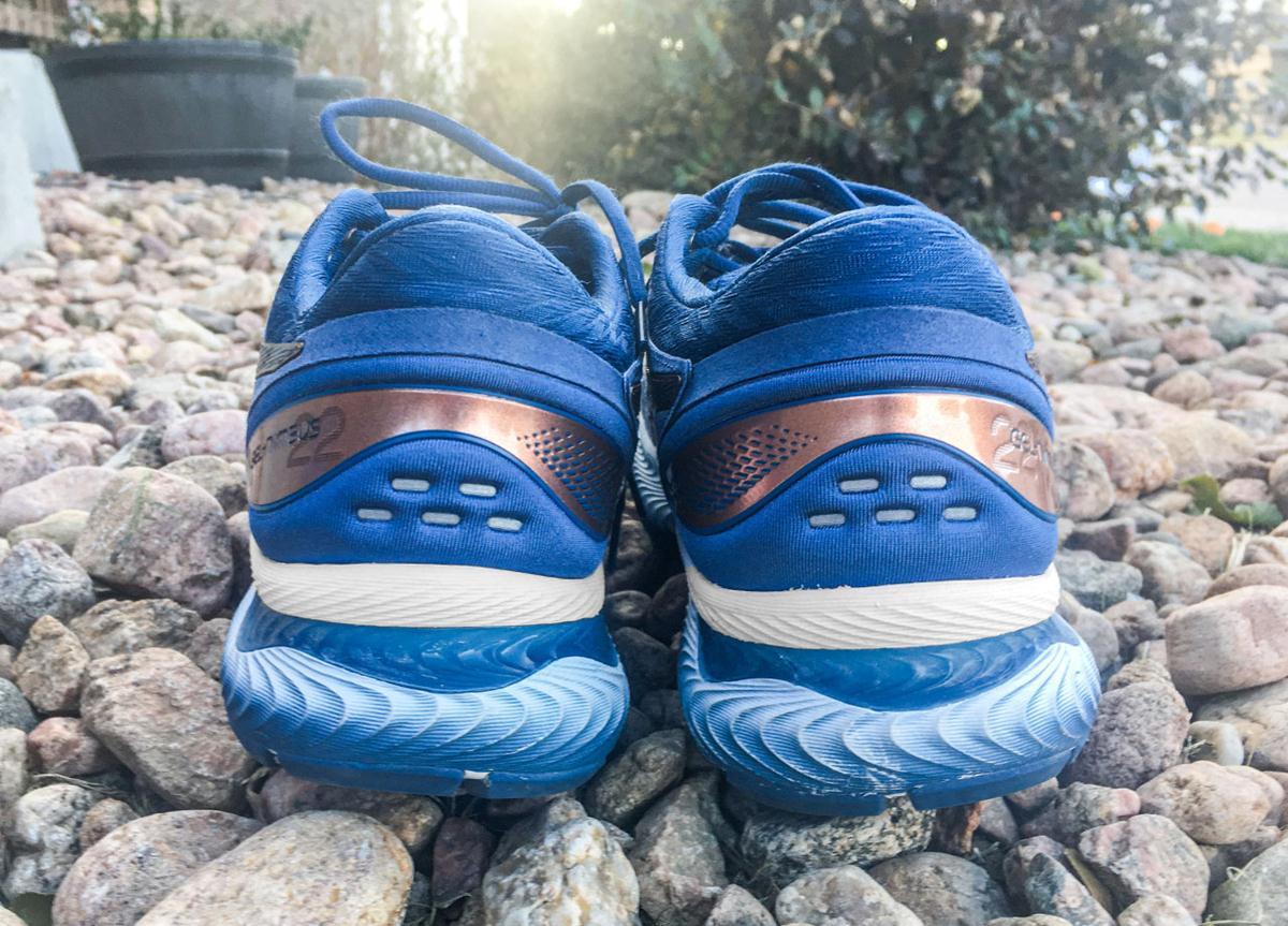 Asics Gel Nimbus 22 - Heel