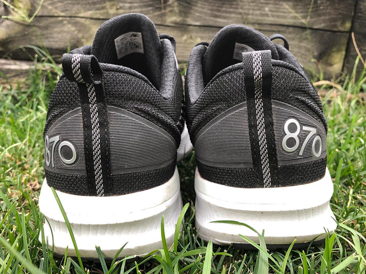 New Balance 870v5 - Heel