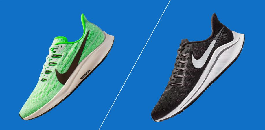 Nike Pegasus Vs Nike Vomero   Running