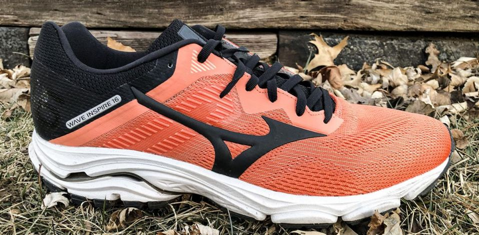 Mizuno Wave Inspire 16 - Lateral Side