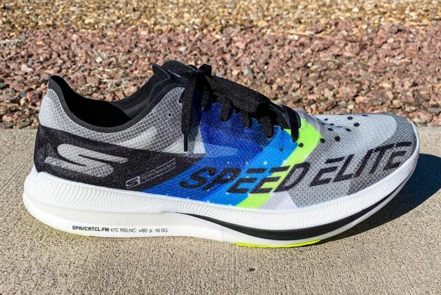 Skechers GOrun Speed Elite Hyper - Lateral Side