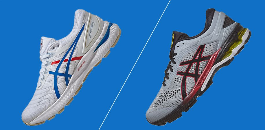 mizuno vs asics running shoes womens
