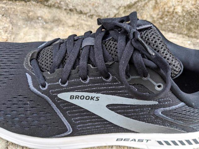 Brooks Beast 20 - Closeup
