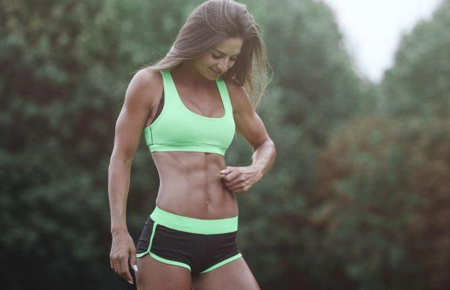 running abs